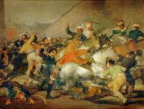 Francisco José de Goya y Lucientes - The 2nd of May 1808 in Madrid: Battle with the Mameluke