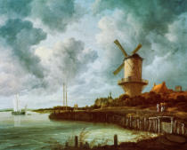 Jacob Isaaksz. van Ruisdael - The Mill near Wijk