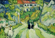 Vincent van Gogh - Treppe in Auvers