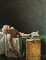 Jacques-Louis David - Der Tod des Marat