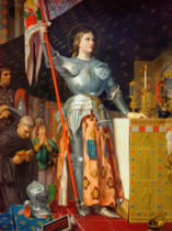Jean-Auguste-Dominique Ingres - Jeanne d'Arc at the Coronation of Charles VII