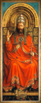 Jan van Eyck - God the Father Enthroned