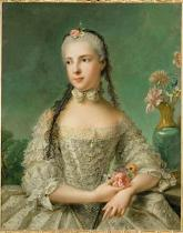 Jean-Marc Nattier - Isabella of Parma / Painting by Nattier