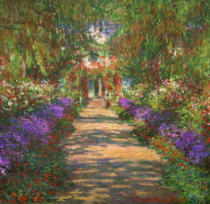 Claude Monet - Garten in Giverny
