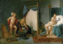 Jacques-Louis David - Alexander überläßt Apelles.../J.L.David