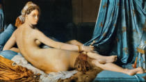 Jean-Auguste-Dominique Ingres - The Grand Odalisque