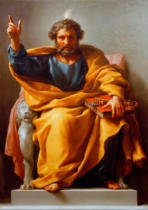 Anton Raphael Mengs - Enthroned St Peter