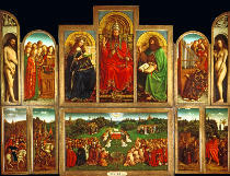AKG Anonymous - Jan van Eyck/ Genter Altar/vollendet1432