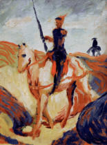 August Macke - Don Quichotte