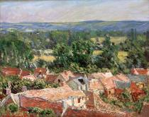 Claude Monet - Vue du village de Giverny