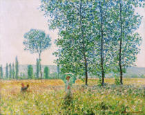 Claude Monet - Fields in Spring