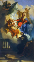 Giovanni Battista Tiepolo - The Holy Family appears to Saint Cajetan
