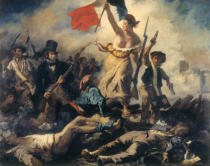 Eugène Delacroix - Liberty leading the People