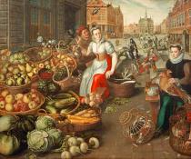16. Jahrhundert - Fruit and Vegetable Market