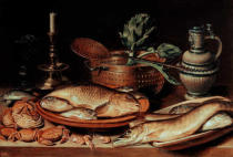Clara Peeters - Stilllife with fish