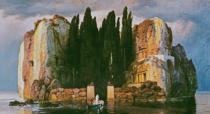 Arnold Böcklin - The Isle of the Dead II