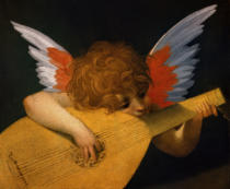 Rosso Fiorentino - Putto playing lute