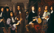 Antonio Domenico Gabbiani - Ferdinando de' Medici and his musicians