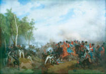 Peter von Hess - Battle near Krasnoje on 14 August 1812