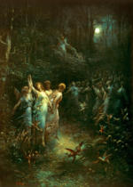 Gustave Dore - Midsummer Night's Dream