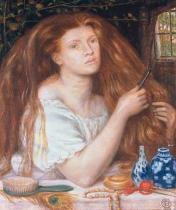Dante Charles Gabriel Rossetti - Woman Combing Her Hair
