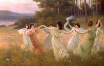 Léopold François Kowalsky - Dancing Maidens