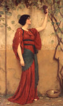 John William Godward - Autumn
