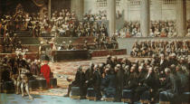 Auguste Couder - Opening in the presence of Louis XVI and the royal court
