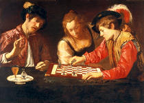 Michelangelo Merisi da Caravaggio - Chess players