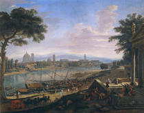Gaspar Adriaens van Wittel - View of the City of Florence from Pignone