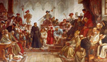 Hermann Wislicenus - Martin Luther at the Diet of Worms