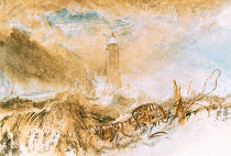 Joseph Mallord William Turner - Eddystone Lighthouse off Plymouth