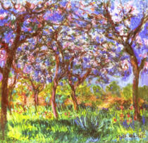 Claude Monet - C.Monet, Frühling in Giverny