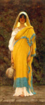 John William Godward - Going to the Well