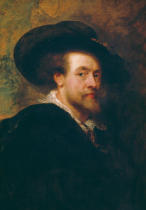 Peter Paul Rubens - Self portrait, 1623