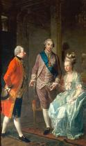 Josef Hautzinger - Archduke Maximilian Franz visits his sister, queen Marie-Antoinette, and his brotherinlaw, king Louis XVI of France