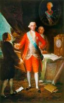 Francisco José de Goya y Lucientes - Don Jose Monino,Count Floridablanca (172