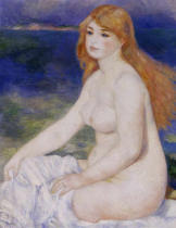 Pierre Auguste Renoir - Blonde bather
