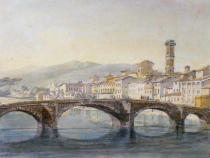 Joseph Mallord William Turner - Florence from the Arno