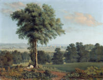 William Turner of Oxford - Landscape with a Distant View of Oxford