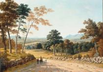 John Knox - View of Ben Lomond, the Campsies and Dumgoyne