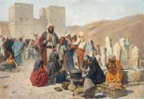 Charles Wilda - Traders in Cairo