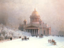Ivan Konstantinovich Aivazovsky - St Isaac's Cathedral, St Petersburg