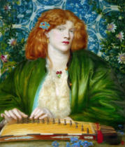 Dante Charles Gabriel Rossetti - The Blue Bower