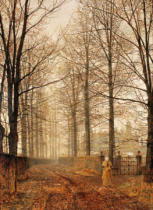 John Atkinson Grimshaw - Three hundred years ago