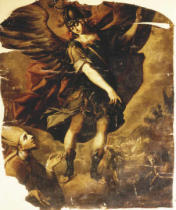 Sebastian de Arteaga - The Archangel Michael appearing to the Bishop of Sipontus