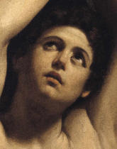 Guido Reni - Saint Sebastian / detail
