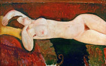 Amedeo Modigliani - Liegender Akt-Le Grand Nu