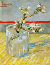 Vincent van Gogh - Branch of an Almond Tree in Blossom in a Glass