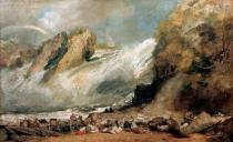 Joseph Mallord William Turner - Fall of the Rhine at Schaffhausen